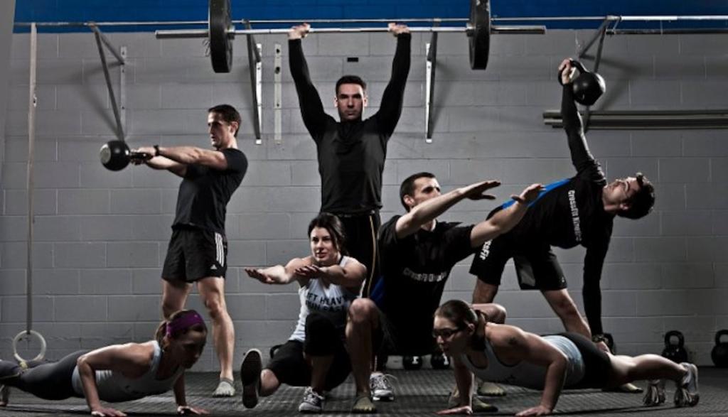 gruppo di allenamento funzionale